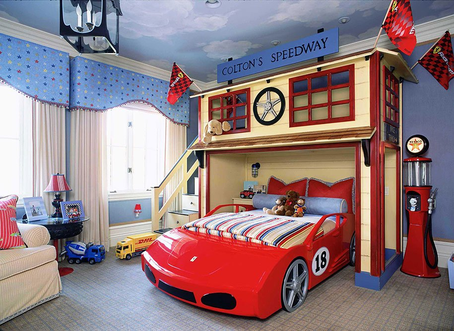 25 Fun And Creative Kids Bedroom Designs