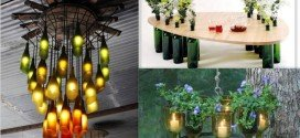 Top 15 Magnificent Ways To Reuse Wine Bottles For Home Beautification