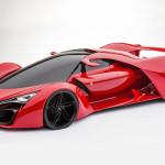 Ferrari F80 1200 HP Supercar Concept Design
