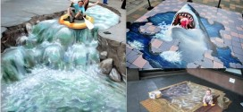 25 Jaw Dropping 3D Street Art Designs