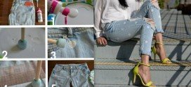 10 Genius DIY Ways To Transform Your Old Jeans Into New Trendy Fashion Piece