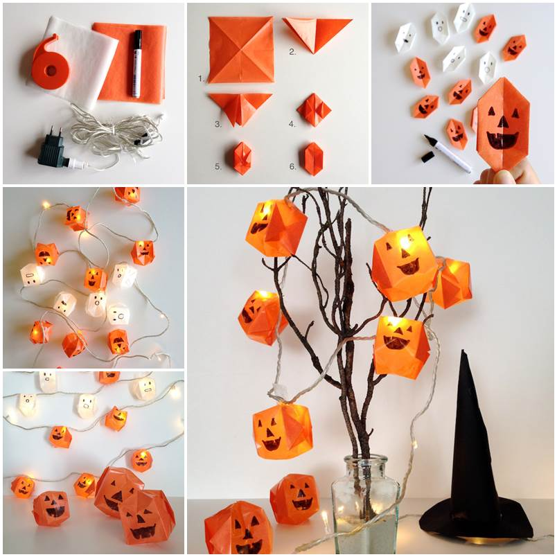 10 easy diy halloween decoration for a spooky holliday - Faire des decorations d halloween ...
