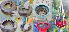 8 Simple and The Most Creative Ideas To Upcycle Old Tyres