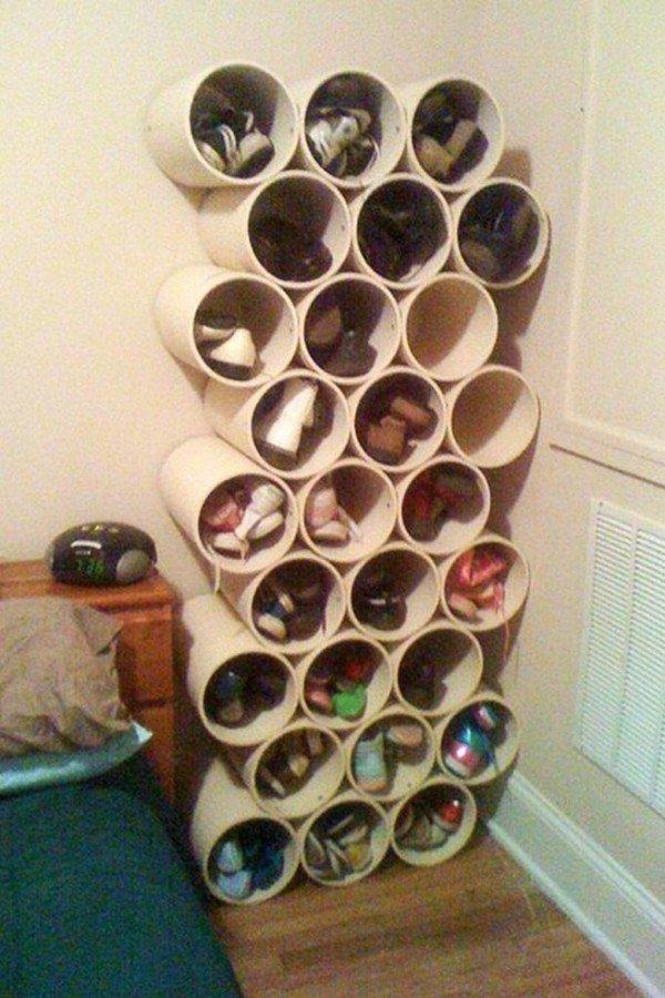 Полочка для обуви в домашних условиях