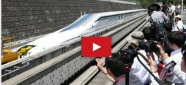 The Fastest Train In Japan Breaks The Record From 500 km/h With Passengers