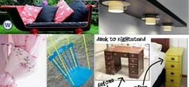 40 Impressive DIY Ways To Repurpose and Reuse Broken Household Items Part 1