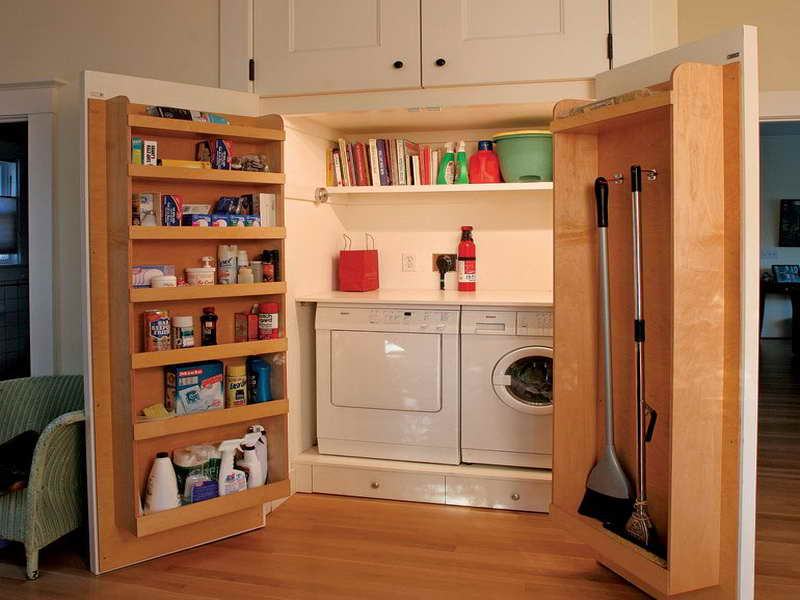 10 genius home tips for doubling your storage space world inside pictures - Cool closet ideas for small bedrooms for your space saving storage solution ...