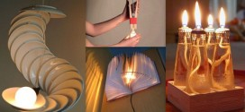 15 Super Creative Recycled Lamps That Are Borderline Genius