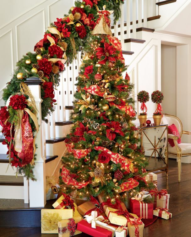 Holiday Decorating Ideas 2014 gold and red christmas decorating ideas for amazing holiday