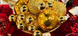 Gold And Red Christmas Decorating Ideas For Amazing Holiday