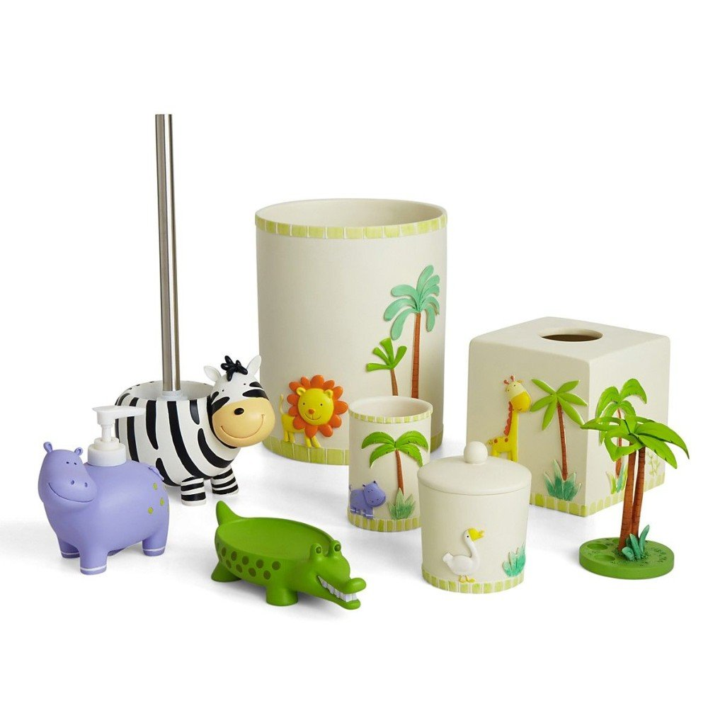 Cute Zoo Themed Bath Accessories
