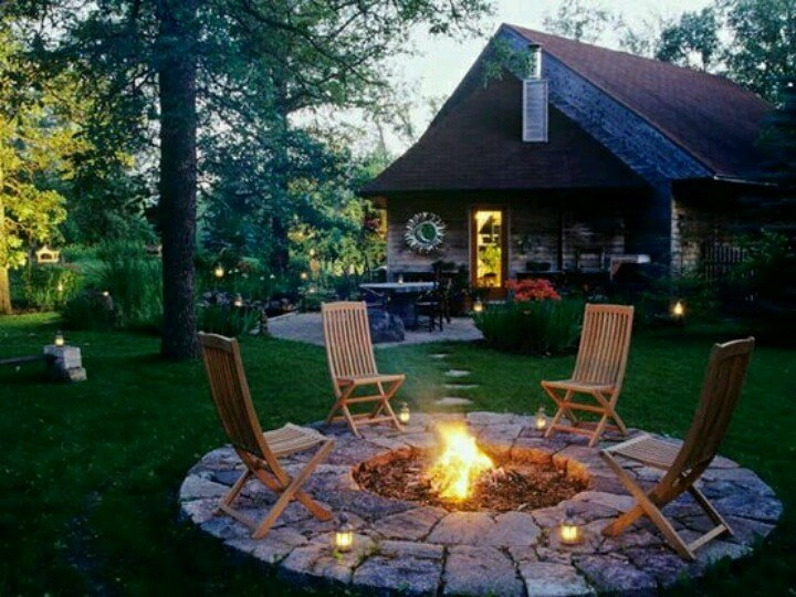 10 fantastic diy fire pit designs for perfect outdoor for Design the perfect backyard