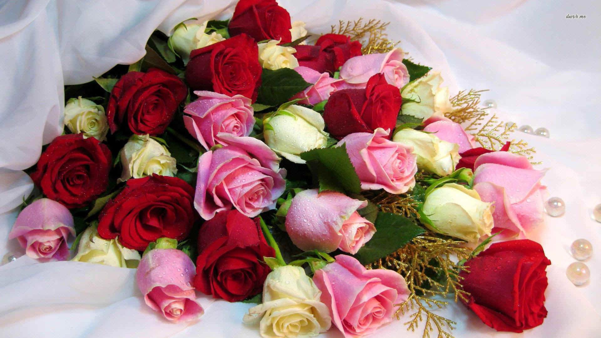 Фото с красивыми цветами или букетами