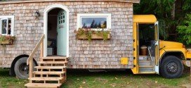 See Inside This Adorable Tiny School Bus Cottage That Will Leave You Speechless
