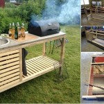 Amazing DIY Idea To Make Your Own Portable Outdoor Kitchen