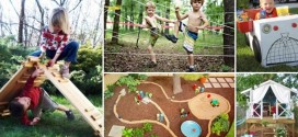 16 Adventurous Backyard Ideas And Parent Hacks To Keep The Kids Busy