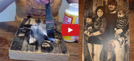 Learn How To Transfer A Photo Onto Wood, Easy and Astonishing!