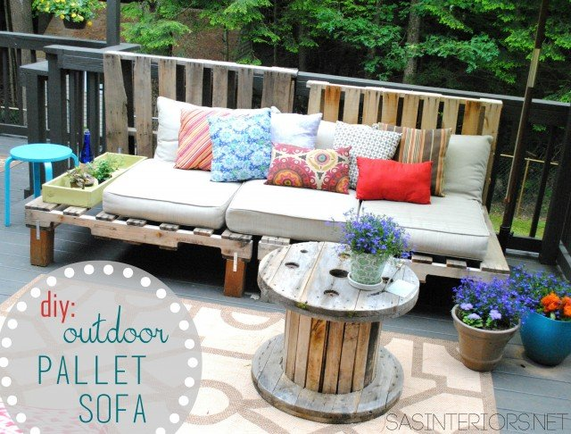 Outdoor Pallet Furniture 22 cheap, easy and creative pallet furniture diy ideas that will