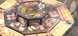 3-In-1 Fire Pit Grill And Table, All You Need For A Spectacular Outdoor Party