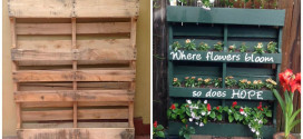 Incredible Way To Brighten Up Your Garden With Clever Repurposed Pallet Planter