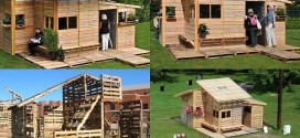 Amazing Wooden Pallet Emergency Home Build In One Day With Only Basic Tools