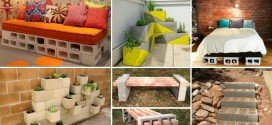 10 Surprisingly Creative Uses Of Concrete Blocks In Your Home and Garden