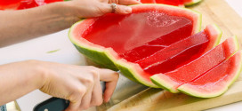 Surprising Way To Turn A Watermelon Into a Big-Batch Jell-O Shot