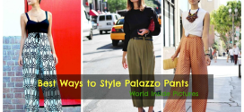 14 Amazing Ideas this Season to Style Your Palazzo Pants