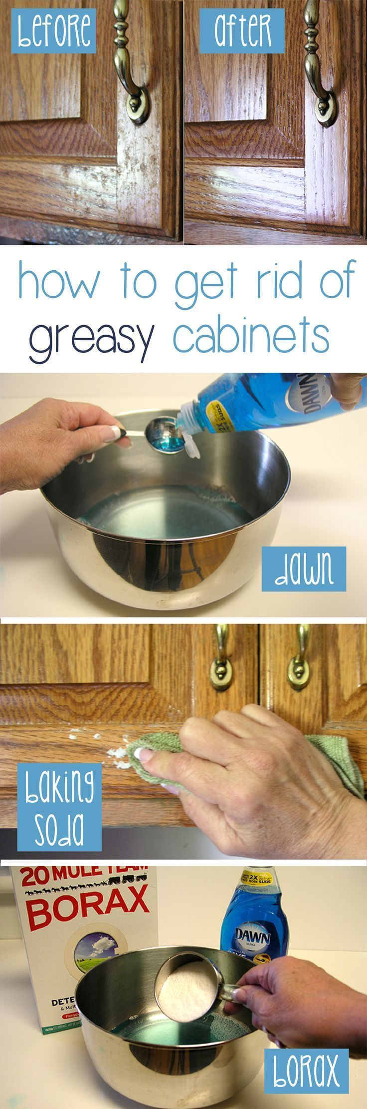 To clean your house like a boss with 11 of the best cleaning tips world inside pictures - Best way to clean greasy cabinets ...
