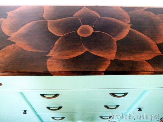 Awesome Idea: How To Use Stain To Make Incredible Furniture Art