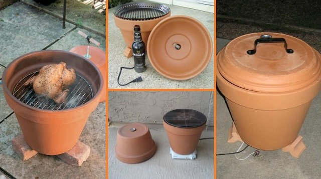 This Is The Most Delicious DIY Project For This Fall   How To Create A DIY Smoker Out Of Clay Pots