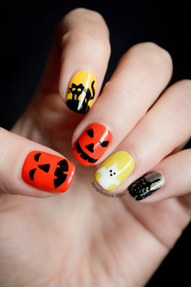 14 Spooky Halloween Nails Designs That Are Better Than Your Costumes