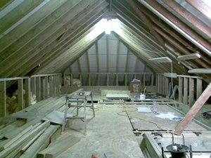 Top 5 things to think about when planning to convert your loft