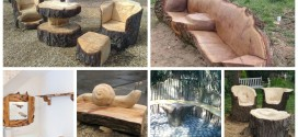 15 Impressive Ways Of Turning Wood Logs And Tree Stumps Into Unique Furniture