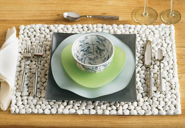 14 Absolutely Brilliant Ideas To Add A River Rocks For Amazing Home Decoration