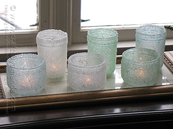 Awesome Winter DIY Decor Idea: How To Make Gorgeous Epsom Salt Luminaries