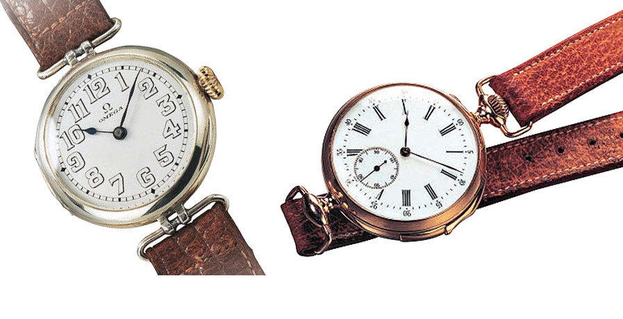 Evolution of Omega  Timeless Timekeepers