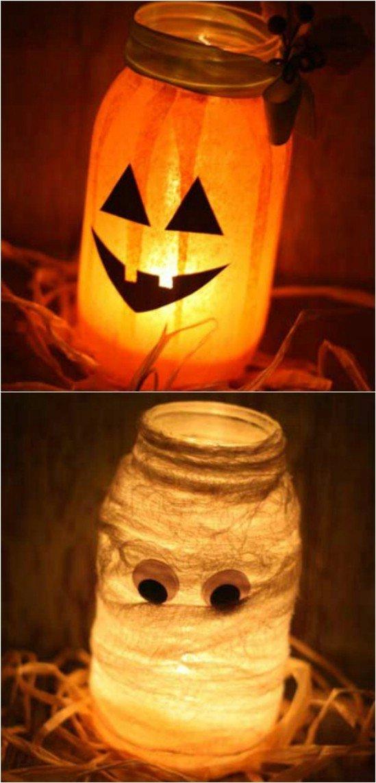 11 Fascinating Homemade Halloween Decor Ideas