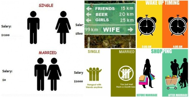 11 Hilariously True Differences: Married vs Single Life