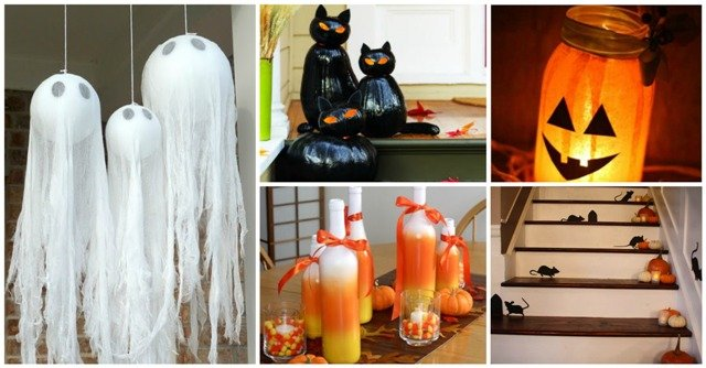 Diy halloween decorations for outside 100 halloween decor for How to make homemade halloween decorations for inside