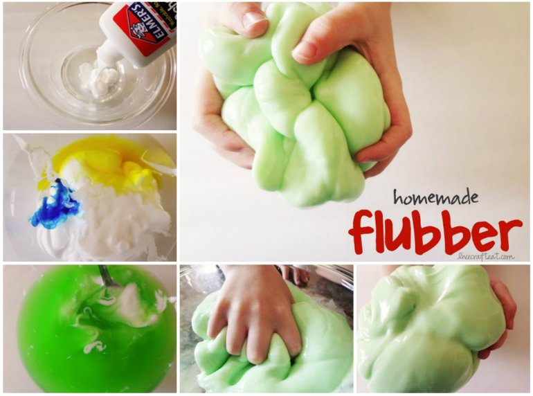 Easy Way To Make Homemade Flubber That Your Kids Will Love It