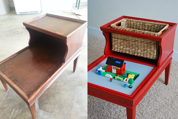 Amazing And Fun DIY Idea For Storing And Playing With Legos