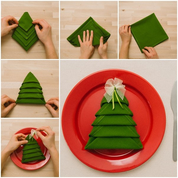 15 Truly Amazing Napkin Folding Ideas That Will Wake Up Your Creativity For This Christmas