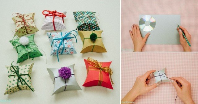 Absolutely cutest diy gift wrapping tutorial beautiful - How to make beautiful gift box ...