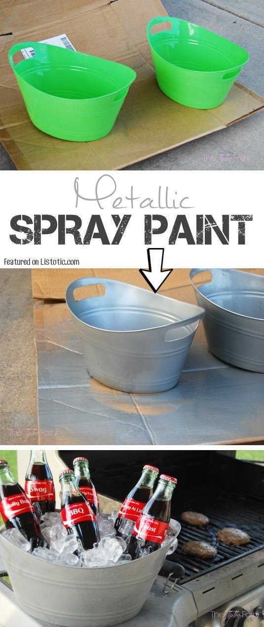 14 Amazingly Cool Spray Paint Ideas That Will Save You A Ton Of Money