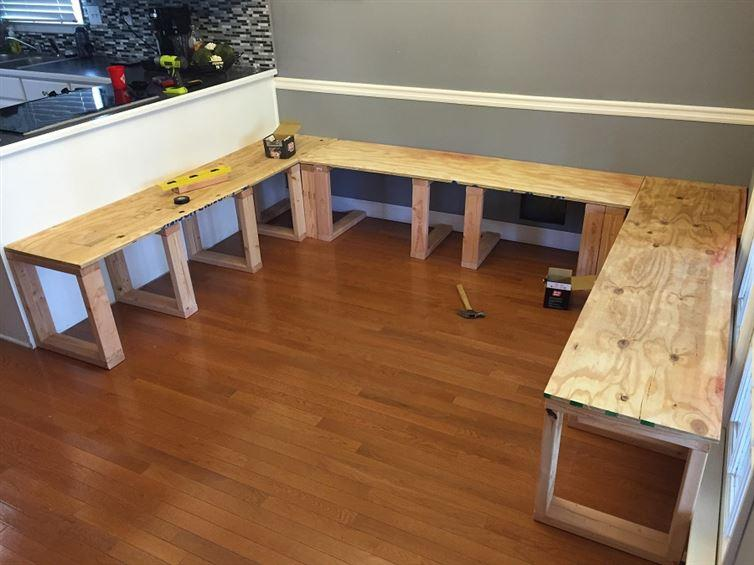 Corner bench kitchen table at home and interior design ideas fabulous solutioingenieria Images