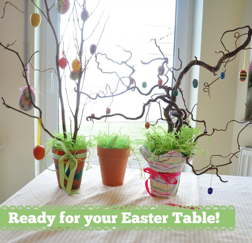 Christian easter decorations for the home - Diy Homemade Easter Tree