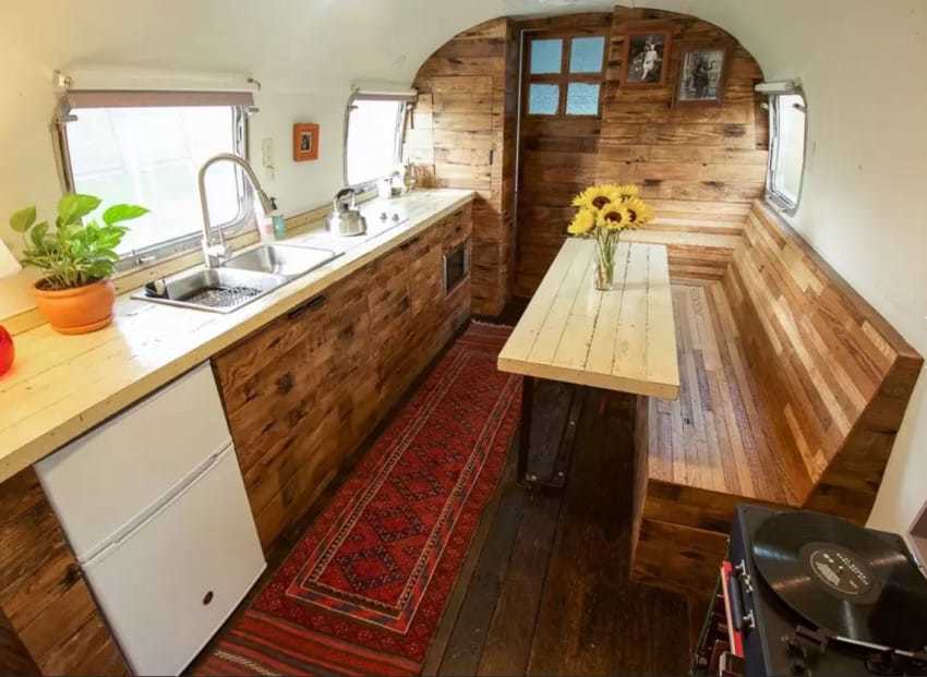 From The Outside It Looks Like The Ordinary 1979 Airstream   But Inside? Incredible