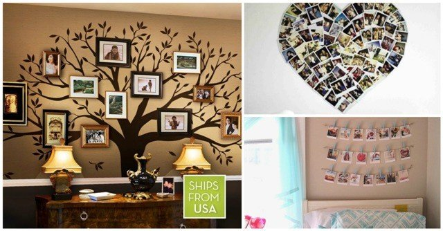 13 remarkable diy photo collage ideas as decor in your for Collage mural ideas