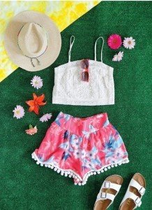 diy flower short